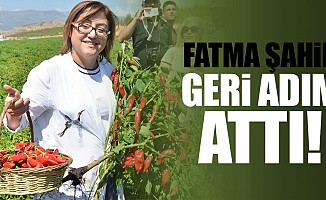 Fatma Şahin geri adım attı!