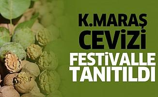 Kahramanmaraş Cevizi Festivalle Tanıtıldı