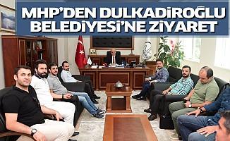 MHP'den Dulkadiroğlu Belediyesi'ne Ziyaret