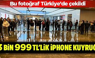 13 Bin 999 Tl'lik İphone Kuyruğu!