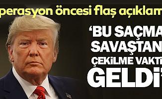 Donald Trump'tan Suriyeaçıklaması!