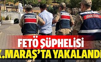FETÖ şüphelisi Kahramanmaraş'ta yakalandı