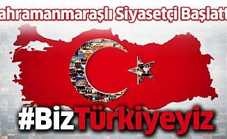 """İlk O Başlatmış """"Biz Türkiyeyiz"""""""