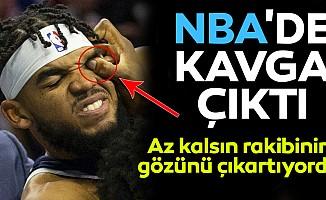 NBA'de kavga çıktı