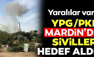 Teröristler Mardini hedef aldı!