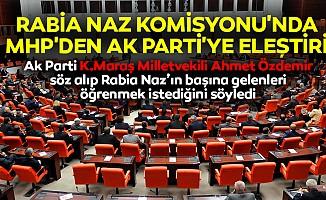 Ahmet Özdemir Rabia Naz'ın başına gelenleri öğrenmek istediğini söyledi