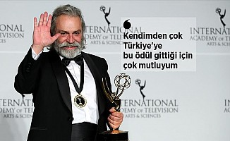 Haluk Bilginer Emmy'de