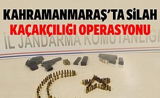 Kahramanmaraş'ta Silah Kaçakçılığı Operasyonu