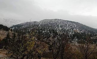 Kahramanmaraş'a yılın ilk karı yağdı!