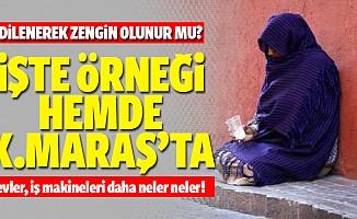 Kahramanmaraş'ta Dilenci Kadın Milyoner Çıktı
