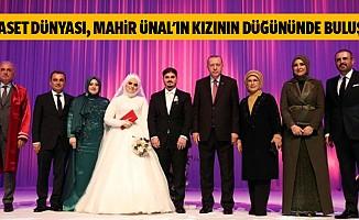 Siyaset Dünyası, Mahir Ünal'ın Kızının Düğününde Buluştu