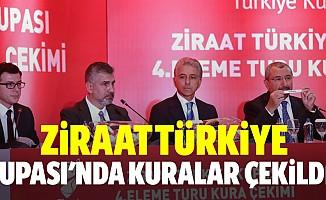 Ziraat Türkiye kupası'nda kuralar çekildi!