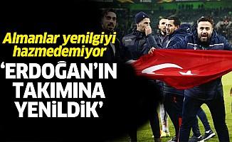 """Almanlar yenilgiyi hazmedemiyor: """"Erdoğan'ın takımına yenildik"""""""