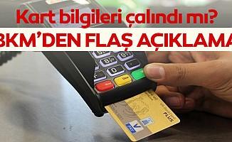 BKM'den 'kart bilgileri çalındı' iddialarına açıklama