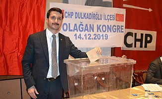 Dulkadiroğlu CHP'de kongre heyecanı