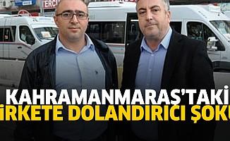 Kahramanmaraş'taki şirkete şok!