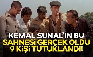 """Kemal Sunal'ın sahnesi gerçek oldu! Ankara'da """"üçkağıtçılar""""a operasyon: 9 kişi tutuklandı"""