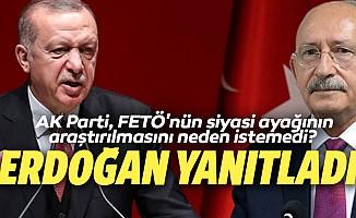 AK Parti, FETÖ'nün siyasi ayağının araştırılmasını neden istemedi? Erdoğan Yanıtladı