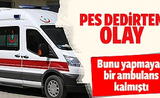 Ambulans da drift atarsa…