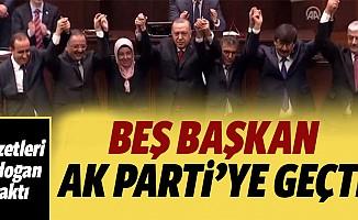 Başkanlar Ak Parti'ye geçti