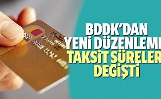 BDDK'dan yeni düzenleme! Taksit süreleri değişti