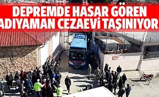 Depremde hasar gören Adıyaman cezaevi taşınıyor!