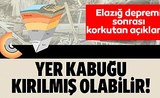 Elazığ depremi sonrası korkutan açıklama!