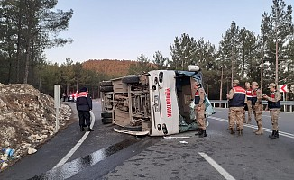 Kahramanmaraş'ta kaza; 38 yaralı