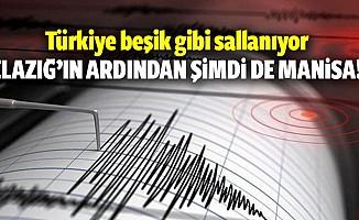 Manisa'da 5.1 büyüklüğünde bir deprem meydana geldi