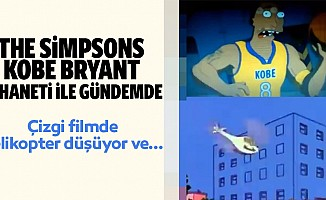 The Simpsons Kobe Bryant Kehaneti İle Gündemde