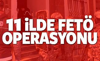 11 ilde FETÖ operasyonu