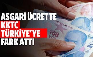 Asgari Ücrette KKTC Türkiye'ye Fark Attı