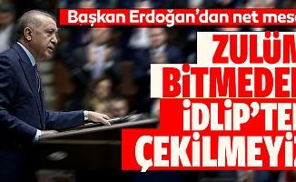 Başkan Erdoğan'dan Suriye mesajı