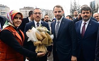 Hazine Ve Maliye Bakanı Kahramanmaraş'ta