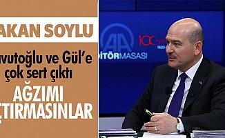 İçişleri Bakanı Süleyman Soylu çok sert çıktı