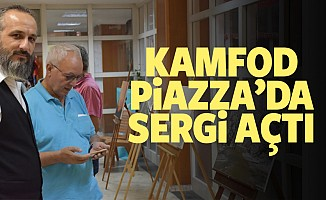 Kamfot Piazza'da sergi açtı