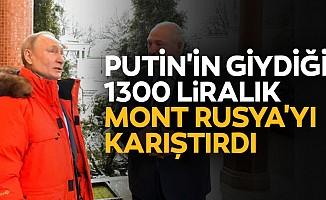 Putin'in giydiği 1300 liralık mont Rusya'yı karıştırdı