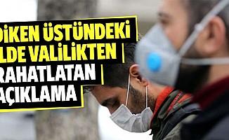 Valilik, kentte koronavirüs vakası bulunduğu iddialarını yalanladı