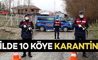 6 ilde 10 köye karantina