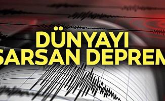 7.5 büyüklüğünde deprem!