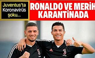 Juventus'ta koronavirüs (Covid-19) şoku!