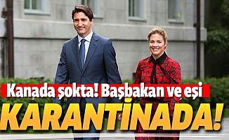 Kanada Başbakanı Justin Trudeau'nun eşi Sophie Trudeau Koronavirüs'e yakalandı
