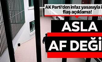 AK Parti'den infaz düzenlemesiyle ilgili yeni açıklama