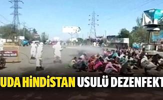 Buda Hindistan usulü dezenfekte
