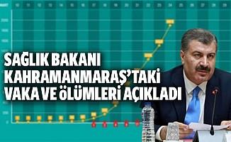 Sağlık Bakanı Kahramanmaraş'taki vaka ve ölüm sayısını açıkladı