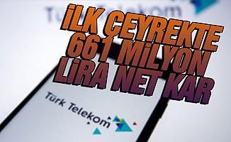 Türk Telekom'dan ilk çeyrekte 661 milyon lira net kar