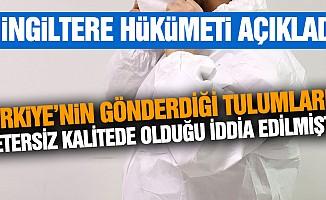 """""""Türk yetkililerin temin ettiği 68 bin tulumun tamamı kalite testlerini geçti"""""""
