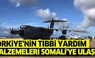 Türkiye'nin Tıbbi Yardım Malzemeleri Somali'ye Ulaştı