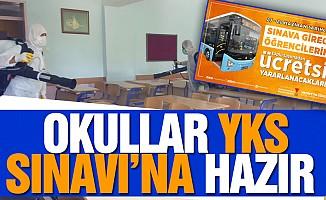 Okullar YKS Sınavı'na hazır