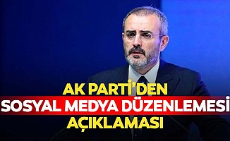 Ak Parti'den sosyal medya düzenlemesi açıklaması